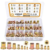 Vigrue 230-Piece SAE & Metric Rivet Nut Set