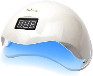 La Curie LED & UV ネイルライト 48W 業界注目低ヒート機能 全ジェル対応 CCFL不使用 自動感知センサー ジェルネイル レジン用 6カ月保証 & 日本語説明書 & プロネイリスト監修ネイルレシピ付き LaCurie003