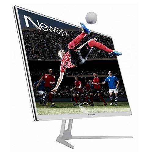 NEWSYNC 32 inch LED Real 200Hz 1ms Gaminig Monitor (AMD Freesync, Cross-Hair Target, Flicker Free, Low-Blue Light, HDR, 178 Wide View Angel) DisplayPort HDMI DVI (32F200 HDR Tempered Glass)