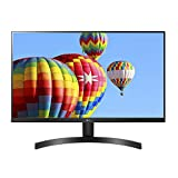 LG 27MK600M-B 27' Full HD IPS Monitor with Radeon FreeSync Technology and Virtually Borderless Design