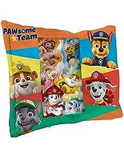 Paw Patrol 6 pluche dieren 14 cm + kussen