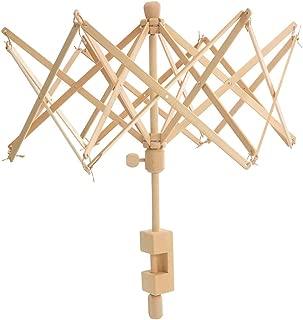 Wooden Umbrella Swift Yarn Winder - Knitting Umbrella 24