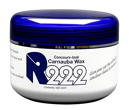 R222 Concours Carnauba Wax
