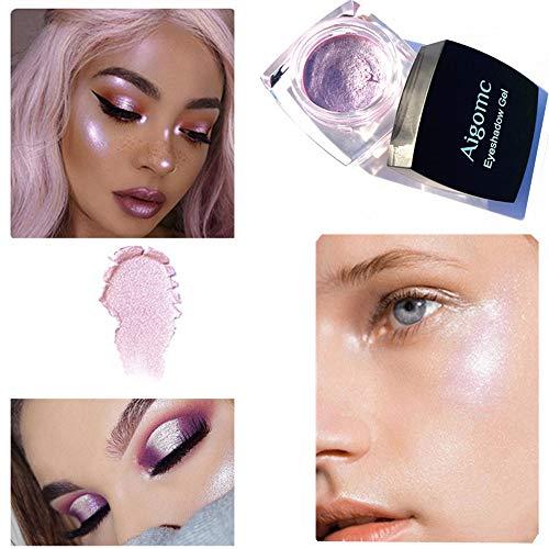6 Farben Lidschatten Professionelle Make-Up Lidschatten-Palette Pulver Mit Matt schimmer Lidschatten...