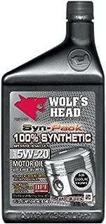 Wolf's Head 100% Synthetic 5W-20 Dexos1-12QT case