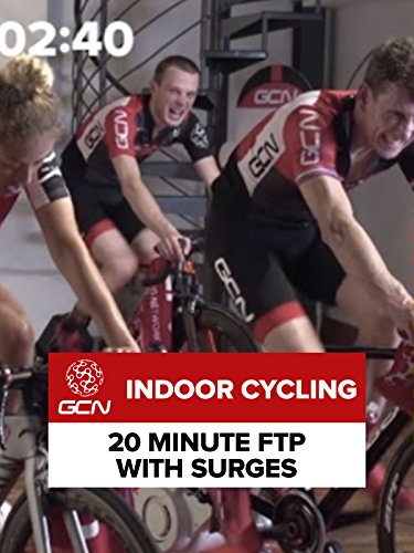 Indoor Cycling - 20 Minute FTP with Surges