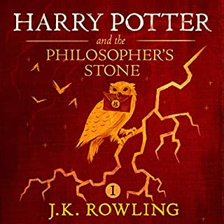 Couverture de Harry Potter and the Philosopher's Stone, Book 1