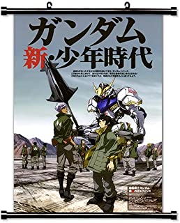 Mobile Suit Gundam Iron Blooded Orphans Anime Fabric Wall Scroll Poster (32x47) Inches