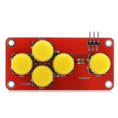 Orville LDTR-WG0076 AD-Tastaturmodul for Arduino-RED-Platinen-Entwicklungsplatine Modul