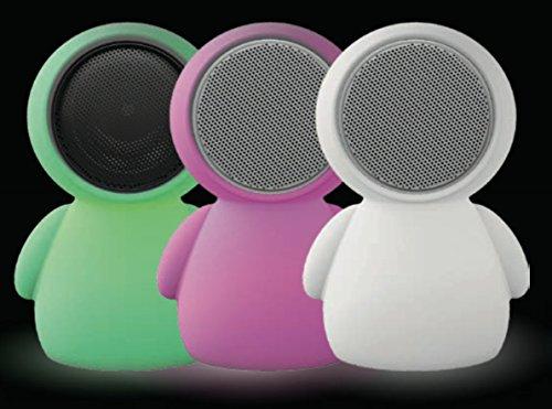 Lámparas Quitamiedos Infantil de Noche Nocturna con Regulador Intensidad Colores Varios Modelos (Alien Luz Colores Altavoz)