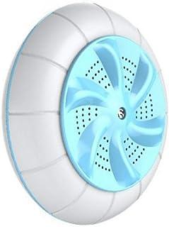 perfk Bärbar mini tvättmaskin ultraljud turbin tvättare för badkar hink – cyan
