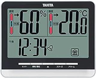 タニタ 温湿度計 温度 湿度 デジタル 大画面 ブラック TT-538 BK 温度・湿度の快適レベルを5段階でお知らせ