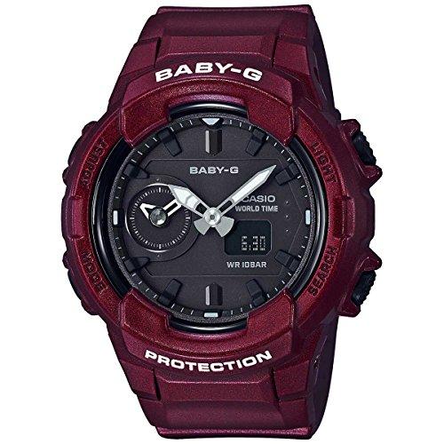 Casio Baby G BGA-230S-4A - Reloj de pulsera con correa de poliuretano, color negro