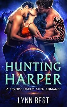 Hunting Harper: An Alien Abduction Reverse Harem Romance (The Cartharian Series Book 2) by [Lynn Best]