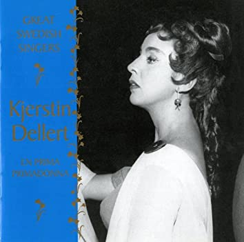 Great Swedish Singers: Kjerstin Dellert (1955-1965)