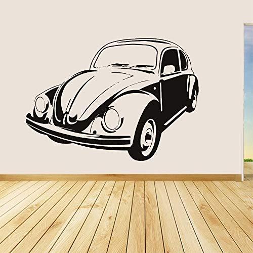 Wandtattoo Wohnzimmer Vw Käfer Retro Style Home Decor Wohnzimmer Fahrzeug Aufkleber
