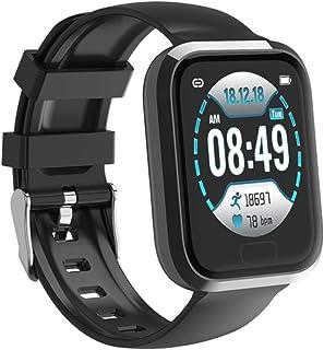 LBFXQ Monitor De Ritmo Cardíaco Step Calorie Counter Sleep Monitor, Fitness Tracker HR, Fitness Tracker Watch for Kids Girls Boys Adolescentes,Gris