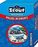 Kosmos 688738 Scout Mini-Spiele - Polizei im Einsatz kompaktes Kinderspiel