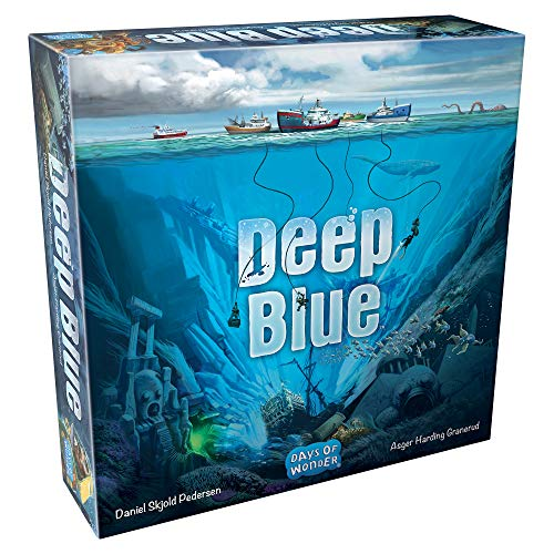 Days of Wonder DOW8901 Azul Oscuro, Colores Mixtos