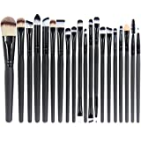 EmaxDesign 20 Pieces Makeup Brush Set Professional Face Eye Shadow Eyeliner Foundation Blush Lip...