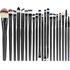 Beauty Shopping EmaxDesign 20 Pieces Makeup Brush Set Professional Face Eye Shadow Eyeliner Foundation