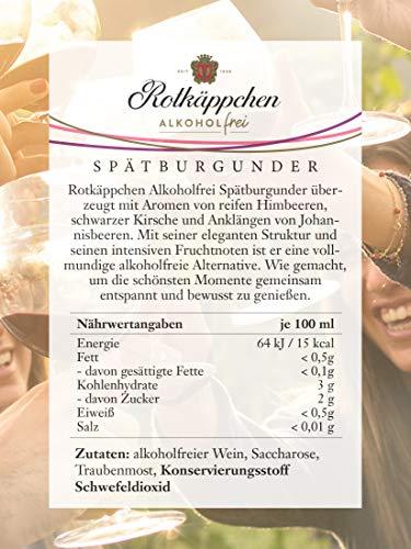 Rotkäppchen Wein Alkoholfrei Spätburgunder (6 x 0,75l) - 5