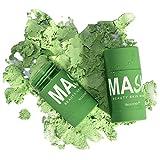 Mascarilla limpiadora de té Verde en Barra, mascarilla Exfoliante de...