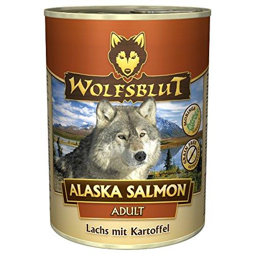 Wolfsblut | Alaska Salmon | 6 x 800 g | Lachs | Nassfutter | Hundefutter | Getreidefrei