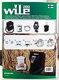 WILE 200 Analizador de precisión de humedad, Peso Específico y Temperatura portátil de jarra para 30 variedades de Cereales y Semillas - Humidímetro agrícola