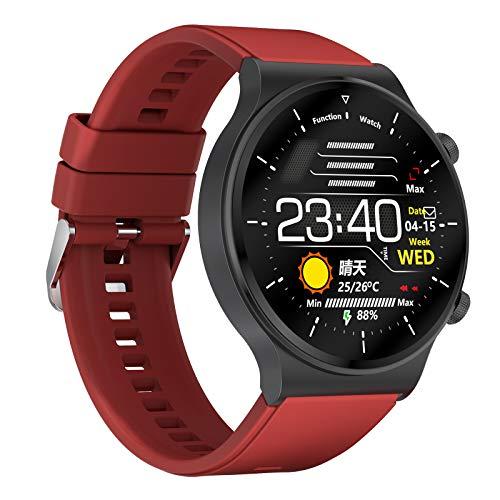 Nobranded C12 Music Sports Men Smartwatch Impermeable Bluetooth Llamada Fitness Tracker Contador de Calorías Podómetro, Amplia Compatibilidad - Color 05