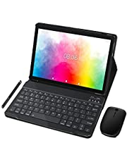 Tablet 10 Pollici MEBERRY Android 9.0 Pie: Quad - Core Dual SIM Multi - Accessori Tablet PC con 4 GB RAM+ 64 GB ROM | 8000mAh | WIFI | GPS | Doppia Fotocamera, Grigio