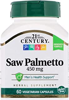 21st Century Saw Palmetto Extract 60 Count (2 Pack)
