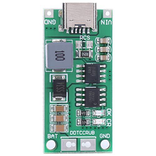 Módulo de Carga, Placa de Potencia de Refuerzo de Carga Rápida, Módulo Cargador de Batería de Iones de Litio Step Up Boost, Placa de Cargador de Batería DDTCCRUB 2S-2A, Voltaje de Entrada CC 3-6 V