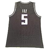 CLQ Herren Sweatshirt Fox Jersey Kings Pattern Version 90S Hip Hop Kleidung für Männer # 5...