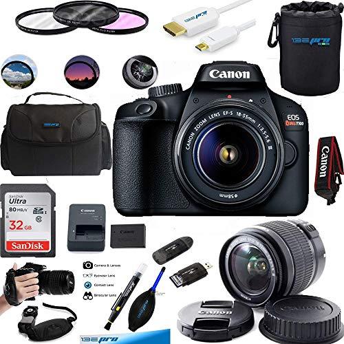 EOS Rebel T100 Digital SLR Camera with 18-55mm Lens Kit...