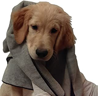 Microfiber Pros Dog Towels – Pack of 2 in Large 20