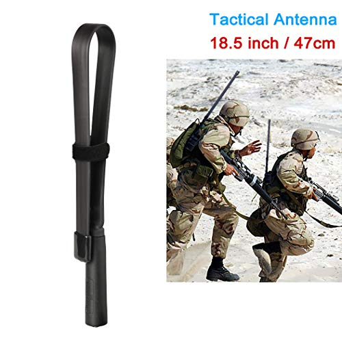 Bingfu Dual Band VHF UHF 136-520MHz 18.5 inch Foldable CS Tactical SMA...
