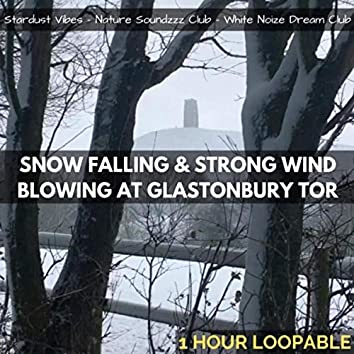Snowstorm Sounds at Glastonbury Tor: One Hour (Loopable)