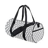 HARXISE Bolsa de Viaje,Impresión de Las Cortinas pasadas de Moda de Damasco,Bolsa de Deporte con Compartimento para Sports Gym Bag