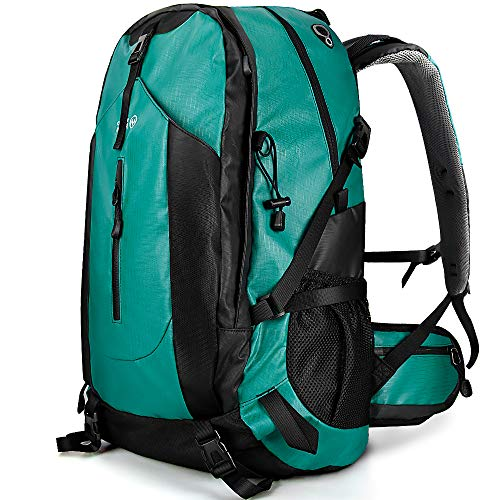 OutdoorMaster Hiking Backpack 50L - Weekend Pack w/Waterproof Rain Cover & Laptop Compartment - for...