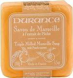 Durance en Provence Serie 'Tradition Marseille' - Seife 'Savon de Marseille' Pfirsich (Pêche) 100 g
