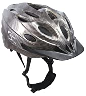 Sport Direct Bicycle MTB Mountain Bike Cycle 18 Vent Graphite Helmet CE EN1078 TUV Approvals