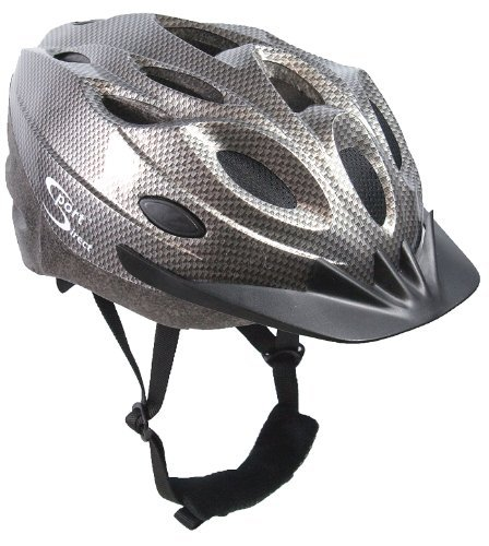 Sport Direct Bicycle Bike Cycle 18 Vent Graphite Helmet CE EN1078 TUV Approvals