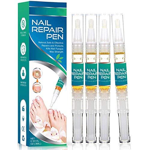 Amada Pure Toenail Fungus Stop Nail Repair Pen,Fungus Nail Care Solution Nail Fungus Stop, Fingernail Fungus, Fungi Nail Fungus Remover 4 Pcs