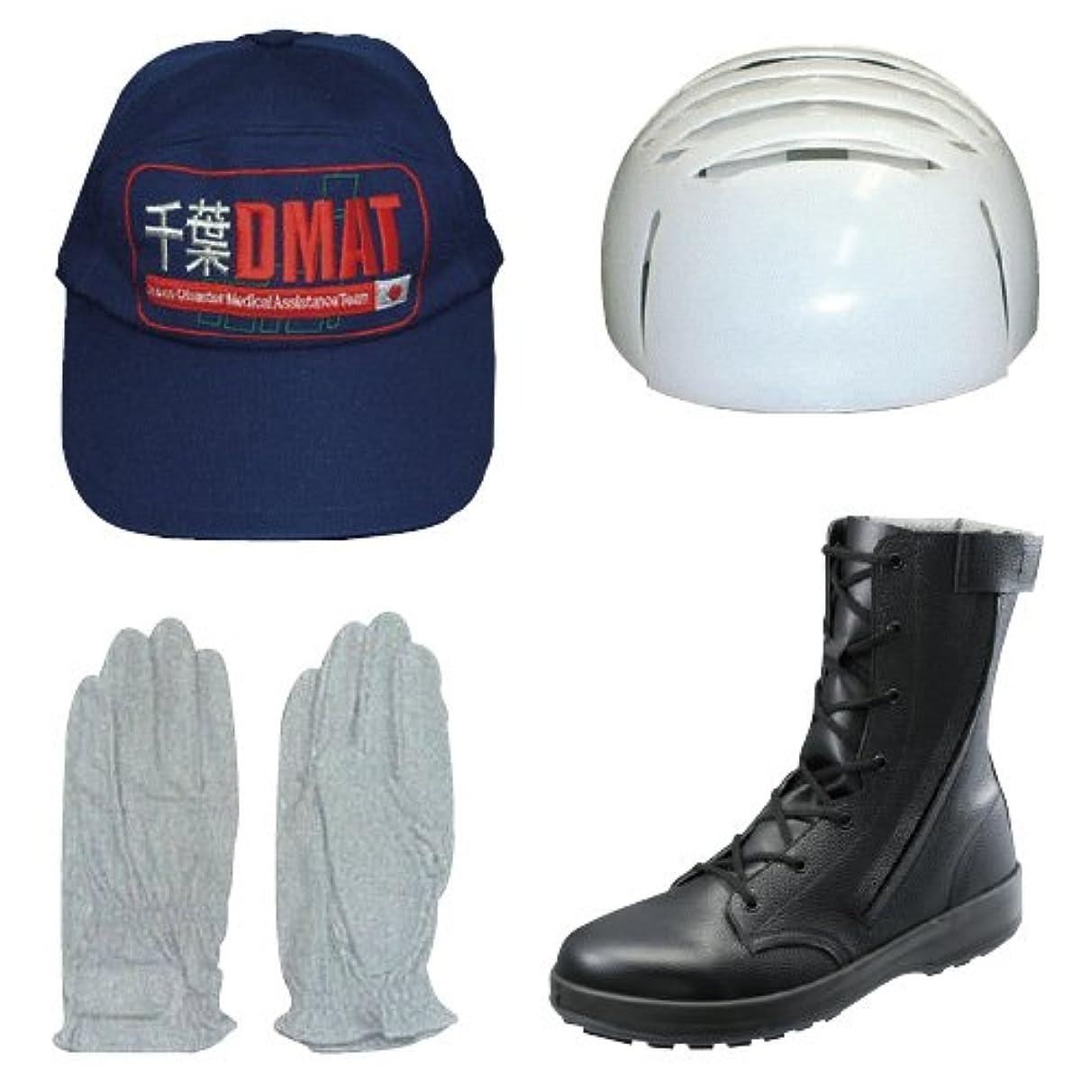 燃やすメタルライン土曜日DMAT用手袋 DMAT??????? L(??)(23-2391-02)【1双単位】