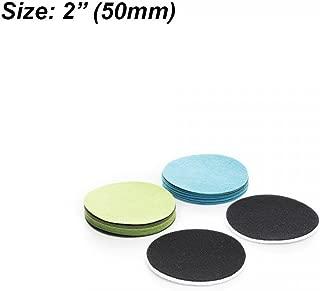 Confezione da 10 Dischi Glass Polish 11,43 115 mm-Disco abrasivo GP50 Scratch Vetro per Riparazione 4,5 Grana FINE cm