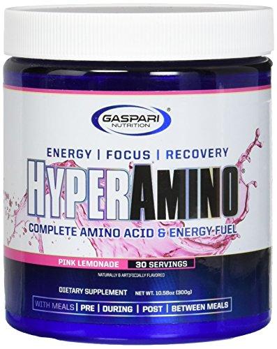 Gaspari Nutrition Aminoacidi Pool-Essenziali Hyperamino Pink Lemonade - 0.4 kg