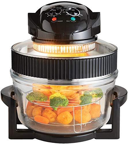 LIVIVO 17 Litre Premium 1200W Halogen Oven Cooker with High Rack, Low Rack...