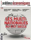 Problèmes économiques, n° 3130 - Les multinationales au XXIe siècle