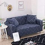 Allenger Funda de sofá de Alta Elasticidad,Funda de sofá elástica, Funda Antideslizante para sofá Todo Incluido, Protector de sofá para Sala de Estar y cafetería-C5_145-185cm